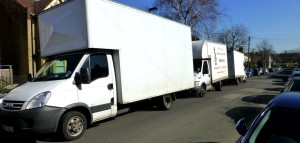 London House Removals Fleet